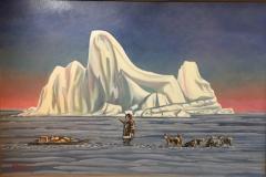 Under an Iceberg
