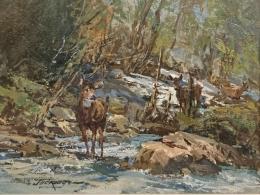 Deer at Creek