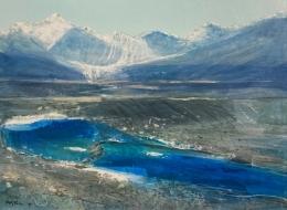 Rocky Mountain Glacial Moraine