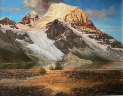 The Rugged Stones of Mount Robson