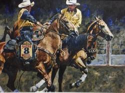 Pick-Up Men; Saddle Bronc
