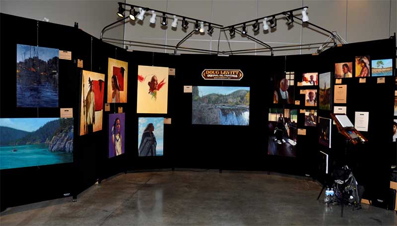 Art Display Panels